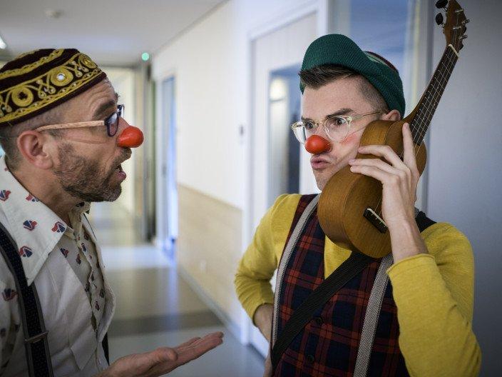 De organisatie van Stichting CliniClowns
