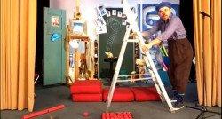 Clown Mimus heeft zijn eigen theater: 'Het is mijn speeltuintje.'