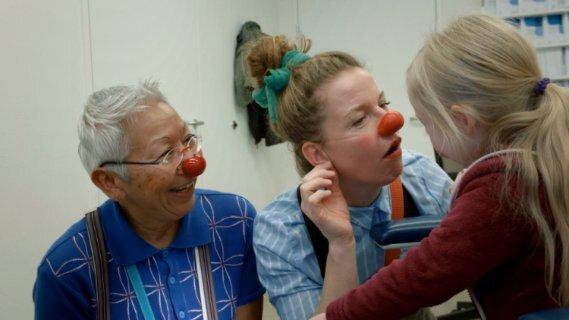 Gepco zag van dichtbij hoe zieke kinderen en kinderen met een beperking opleven van een bezoek van de CliniClowns