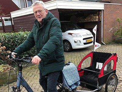 Peter gaat in mei 2021 naar Ibiza fietsen voor CliniClowns
