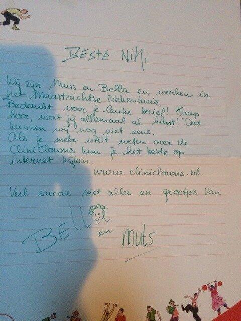 Een brief aan Niki
