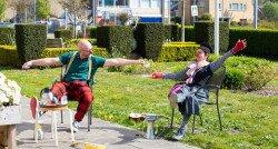 Buiten spelen zorgt binnen voor afleiding en plezier
