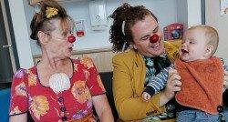 'De CliniClowns hebben ons echt even laten genieten'