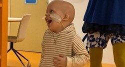 Het zoontje van Kim had een hersentumor: 'Vechten tegen het monster'