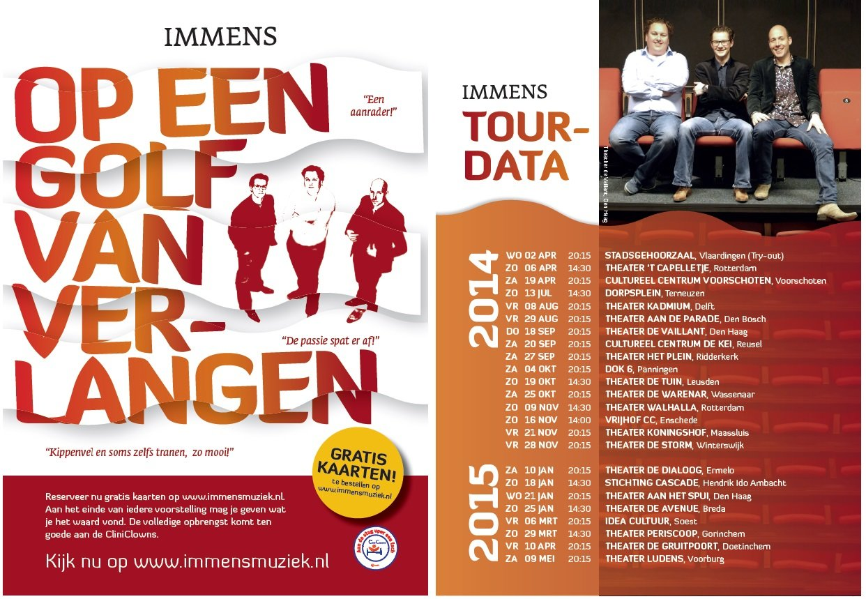 flyer band immens