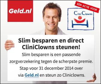 geld.nl in actie voor CliniClowns
