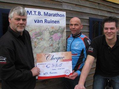 marathon ruinen cheque