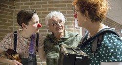 Een kiekje met de clowns