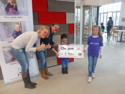 cheque moment met FedEx