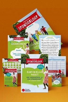 Sponsorlooppakket voor CliniClowns