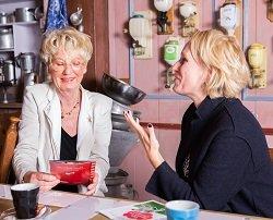 CliniClowns-relatiemanager Frances in contact met Gery