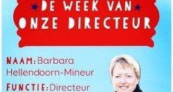 'De week van onze directeur'