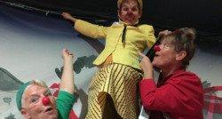 Staalkabel voor Circus CliniClowns