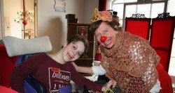 De clowns voelen als vrienden voor Sterre