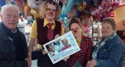 Mooi bedrag van familie Van Esch voor CliniClowns