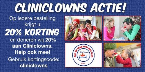 Canvassite voor CliniClowns