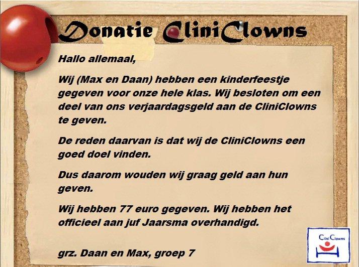 Actie CliniClowns