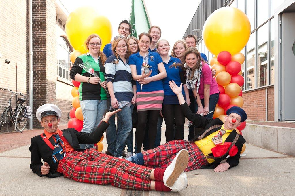 Studentenvereniging Osiris wint de Gouden Neus CliniClowns