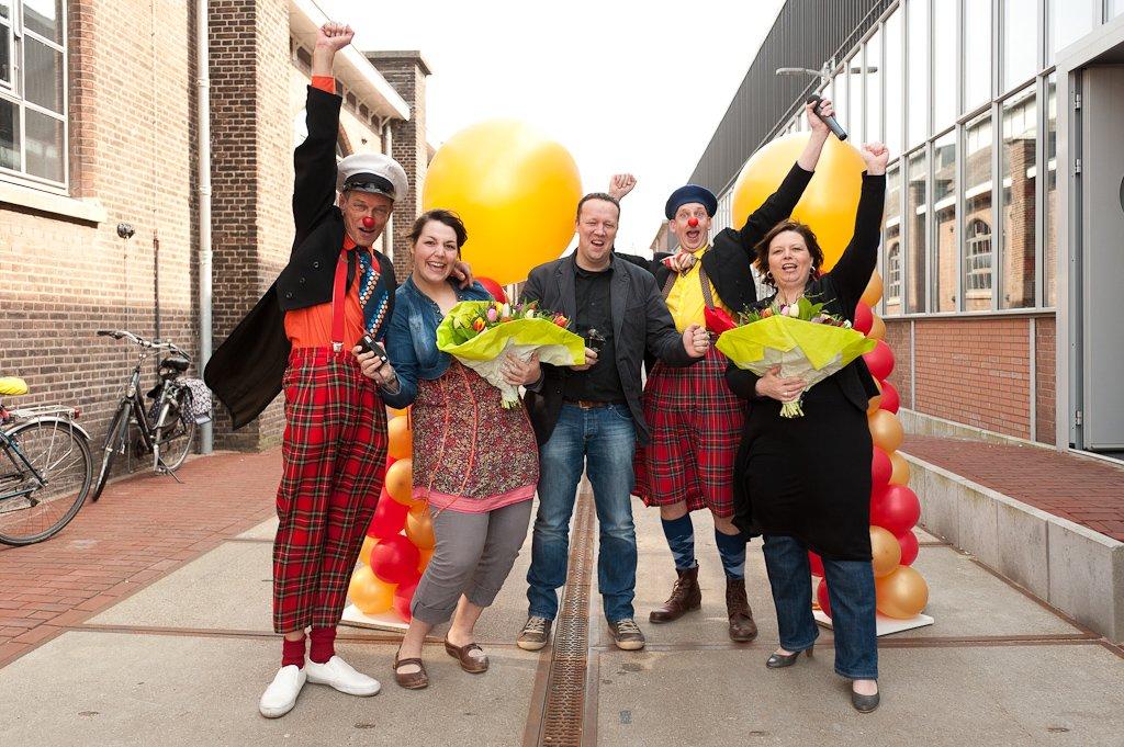Gemmaschool wint Bronzen Neus CliniClowns